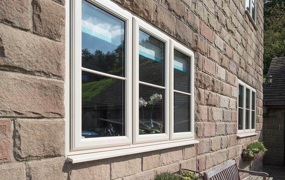 Upvc coloured windows coloured window frames epsom surrey for Upvc window frame