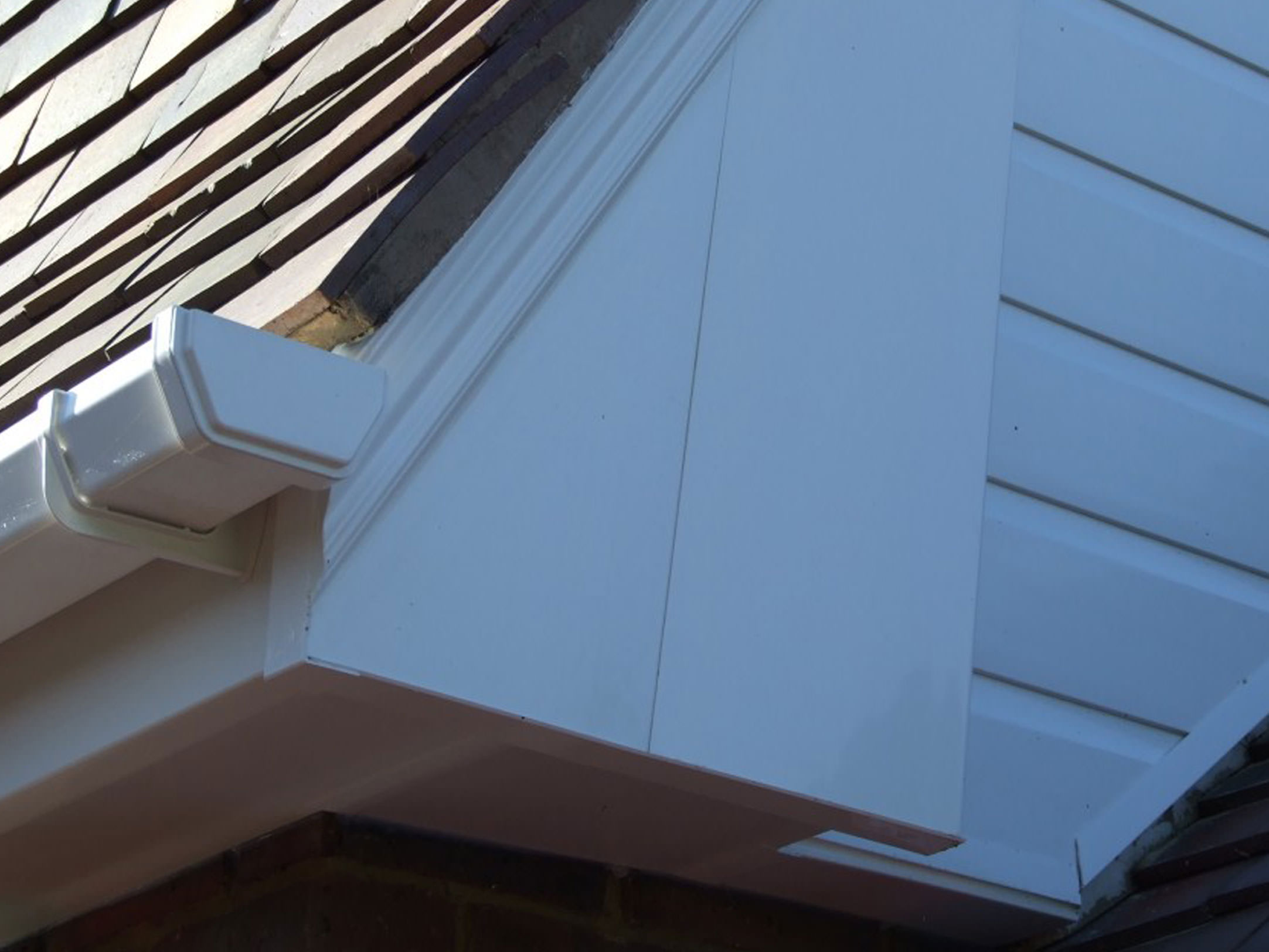 uPVC Cladding and Guttering