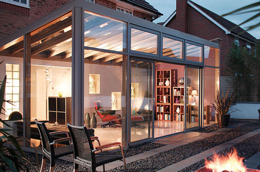 Lean-to conservatory Epsom Surrey