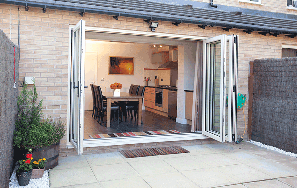 uPVC Bi-Folding Doors Epsom