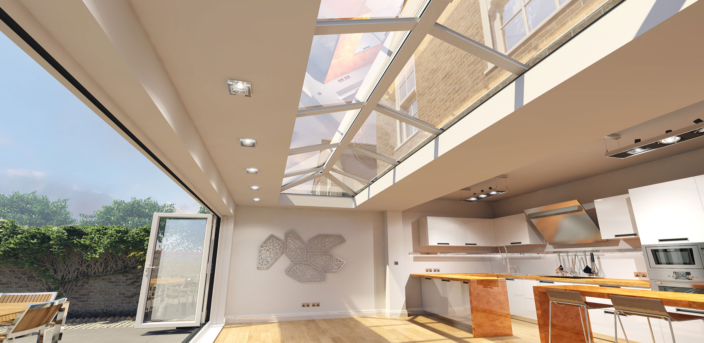 Flat Roof Lantern Epsom