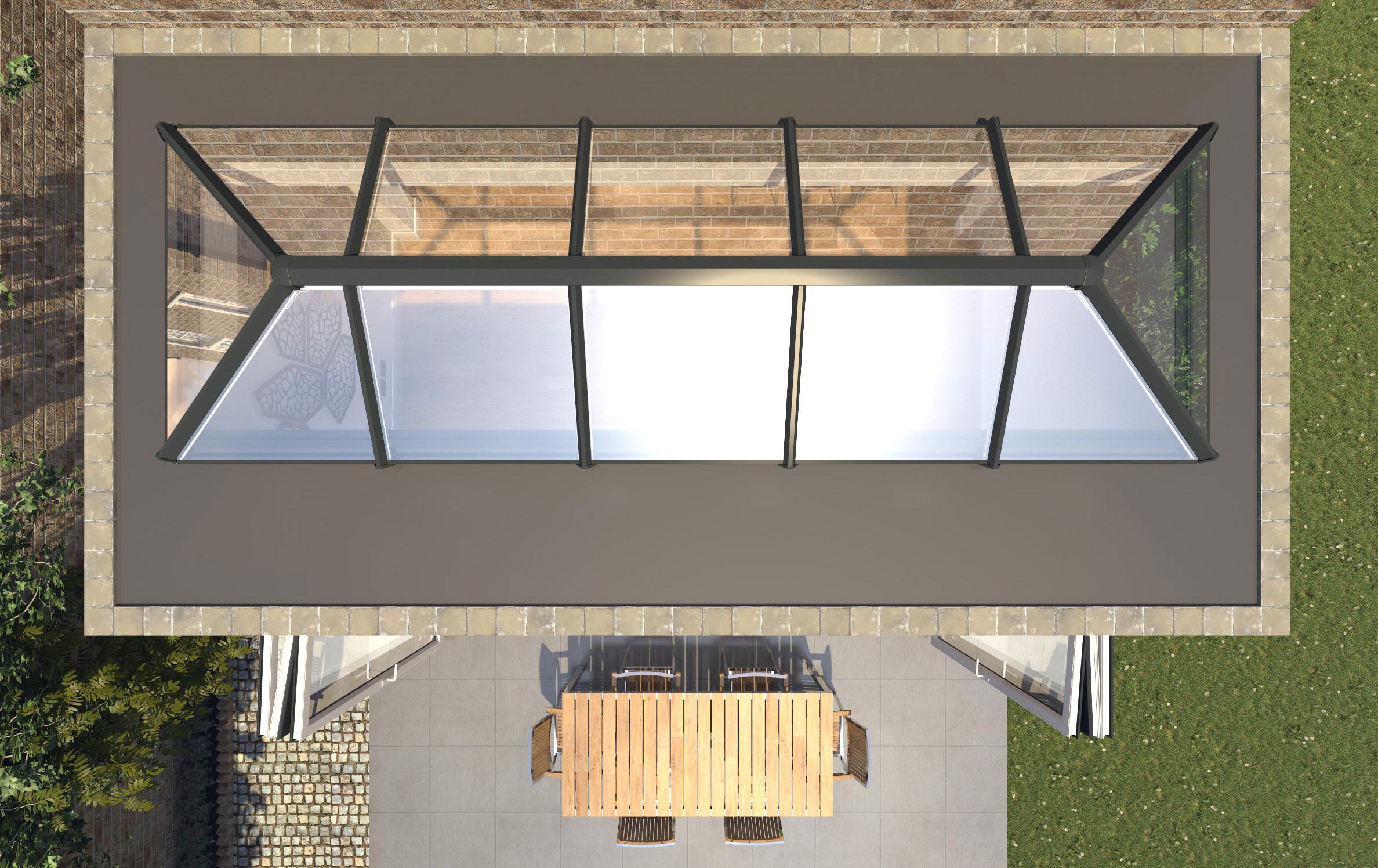 External View Skypod Lantern Roof, Epsom