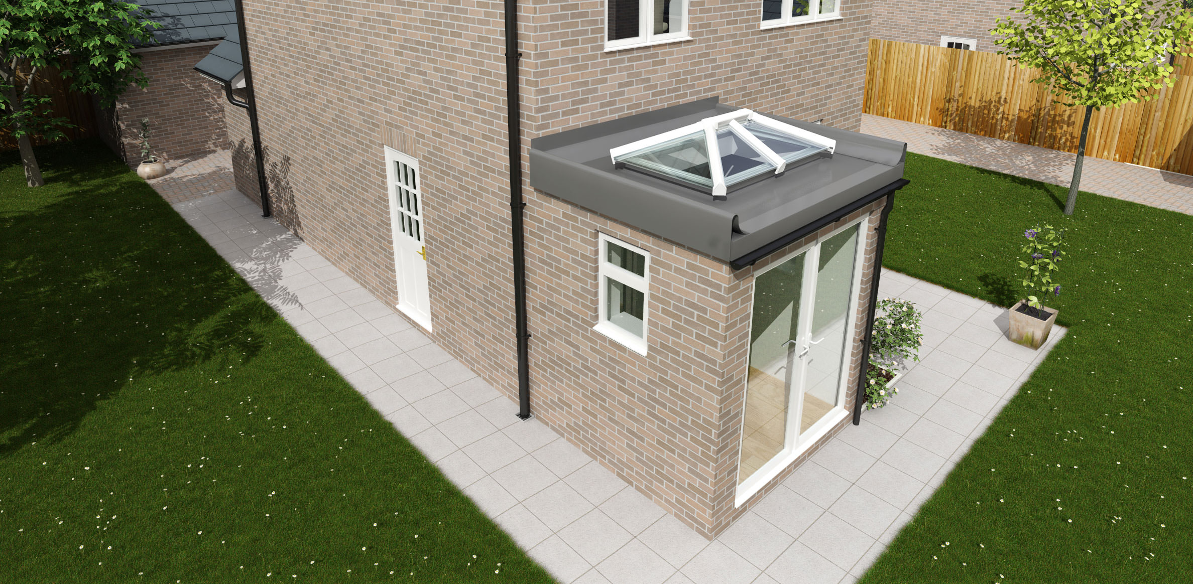 Roof Lantern For Small Roofs, Surrey
