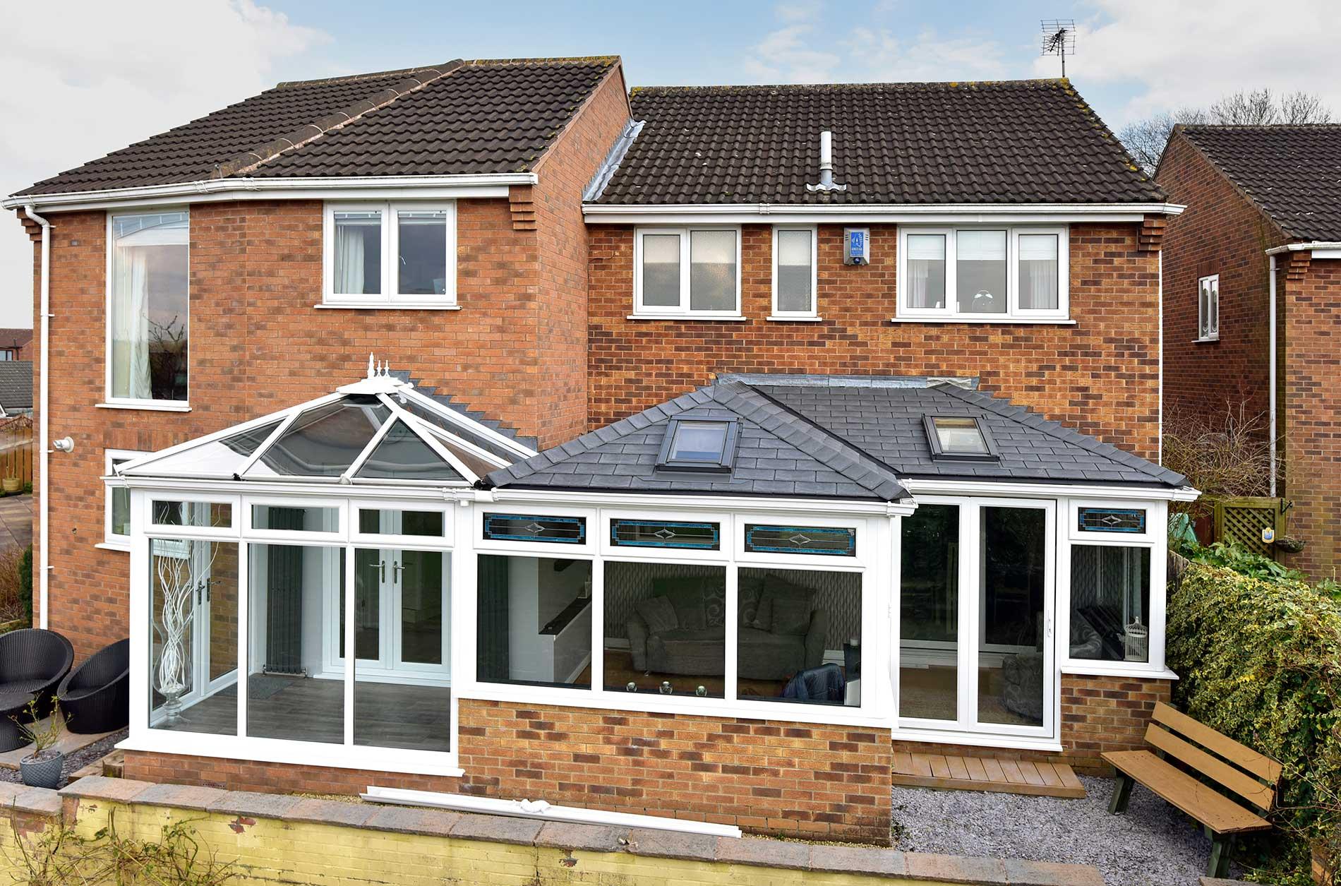 Tiled Conservatory Roof Epsom