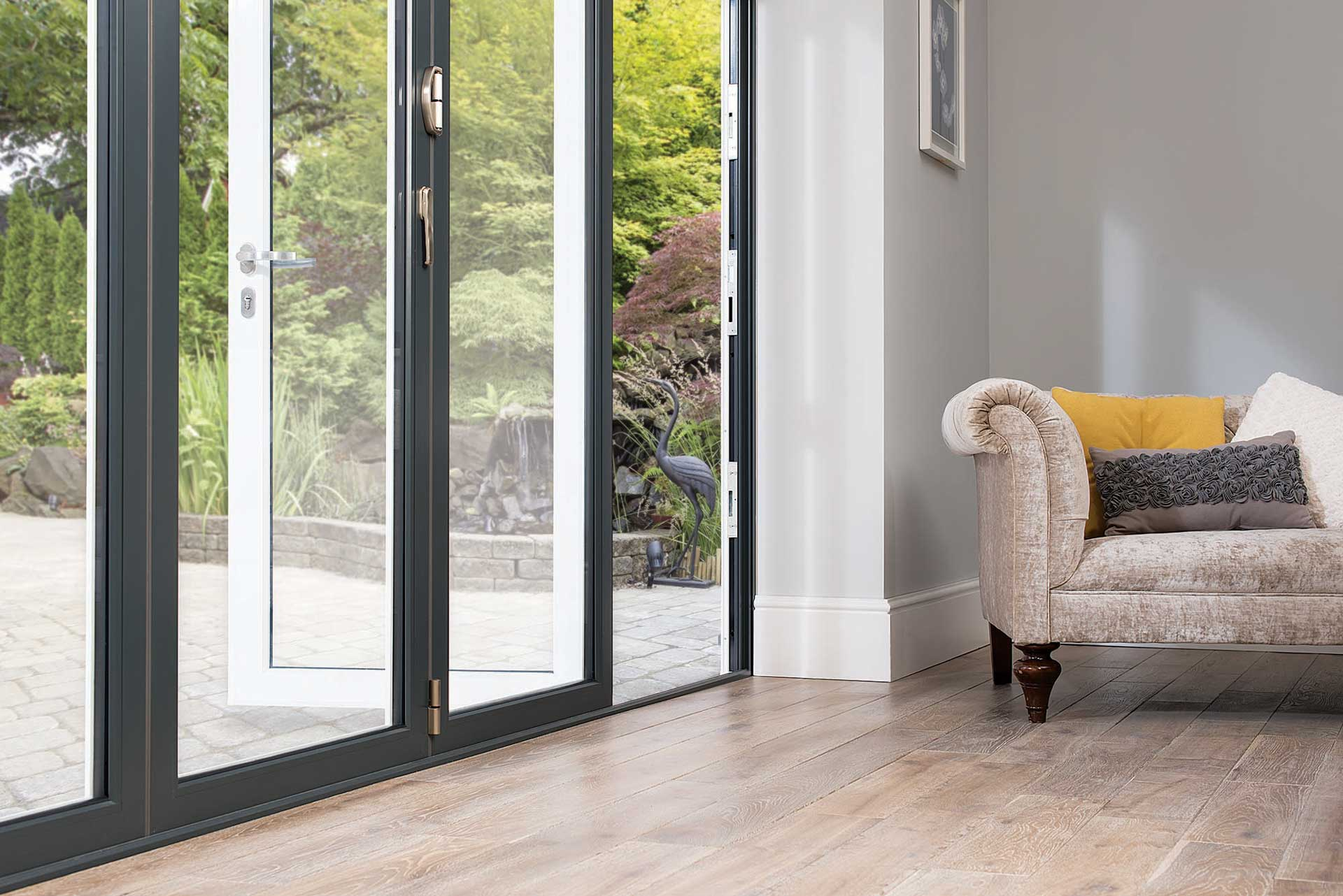 aluminium bi-fold doors prices epsom surrey